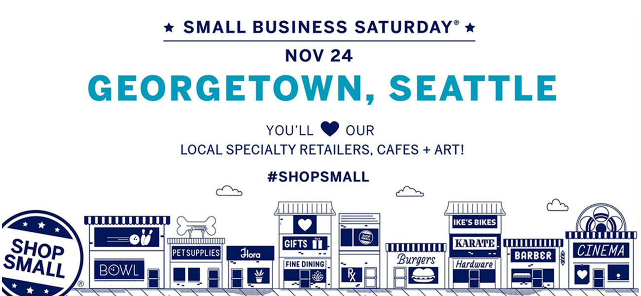 Small Business Saturday - November 24, 2018